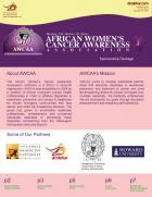 African Women Cancer Association - Sponsorship Package
